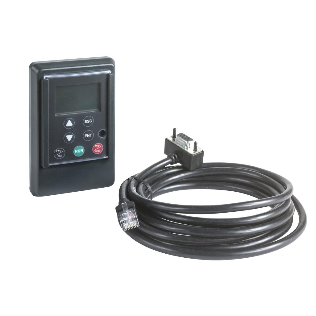 Square D VW3A31101 AC Drive Remote Keypad Display Terminal
