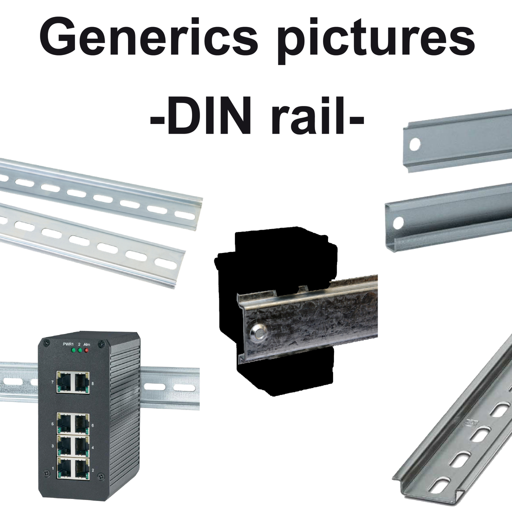 Mayer-Plate for mounting on symmetrical DIN rail-1