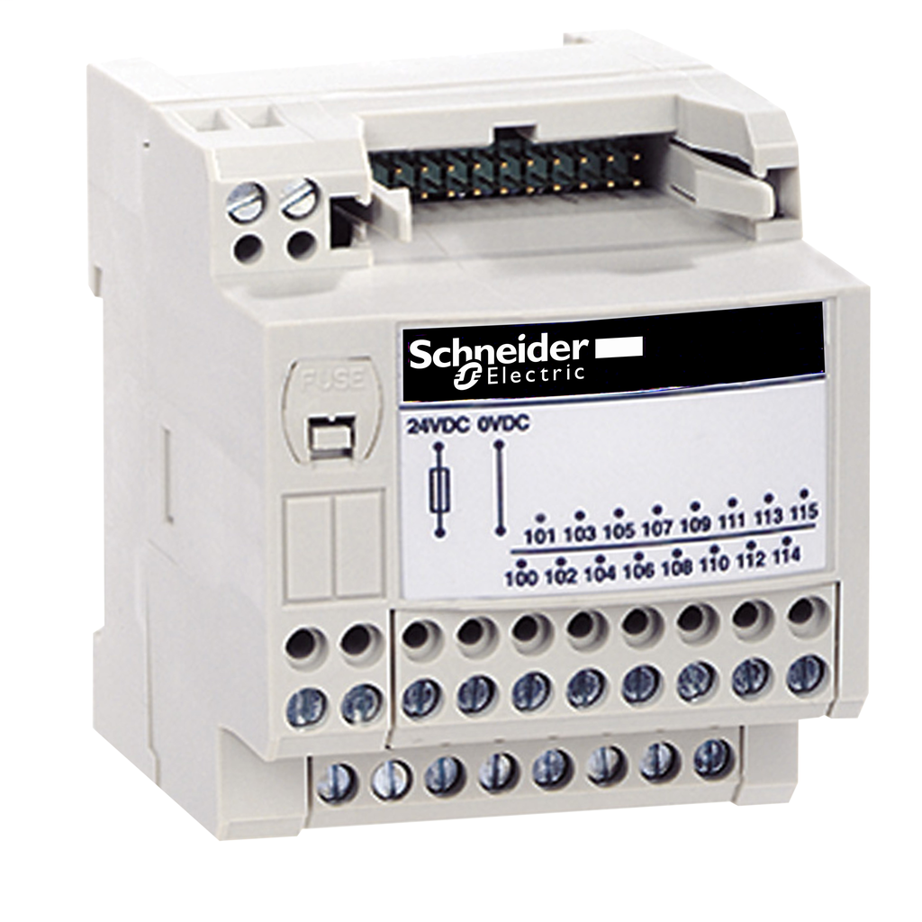 Mayer-Passive connection sub-base ABE7 - 16 inputs or outputs - Micro/Premium cable 1m-1