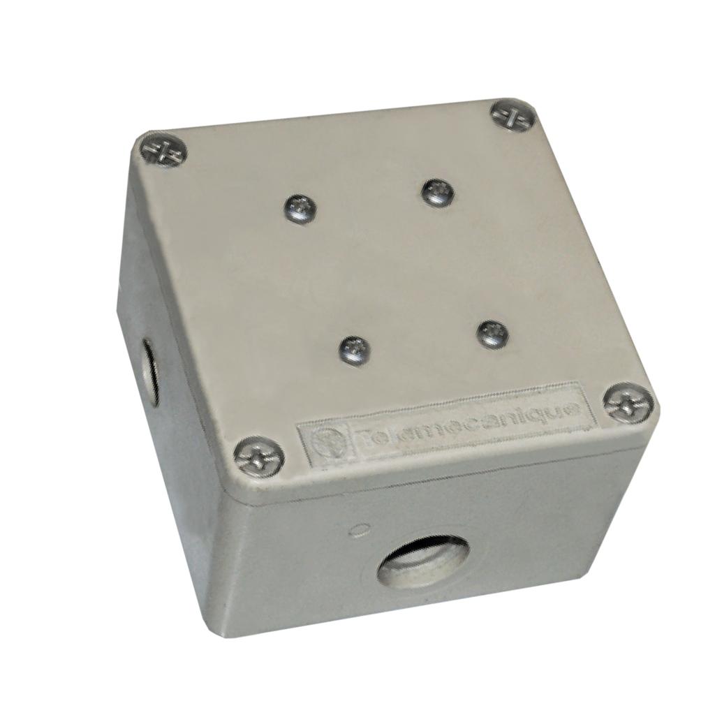Mayer-Modbus passive tap junction box - 3 screw terminals, RC line terminator-1