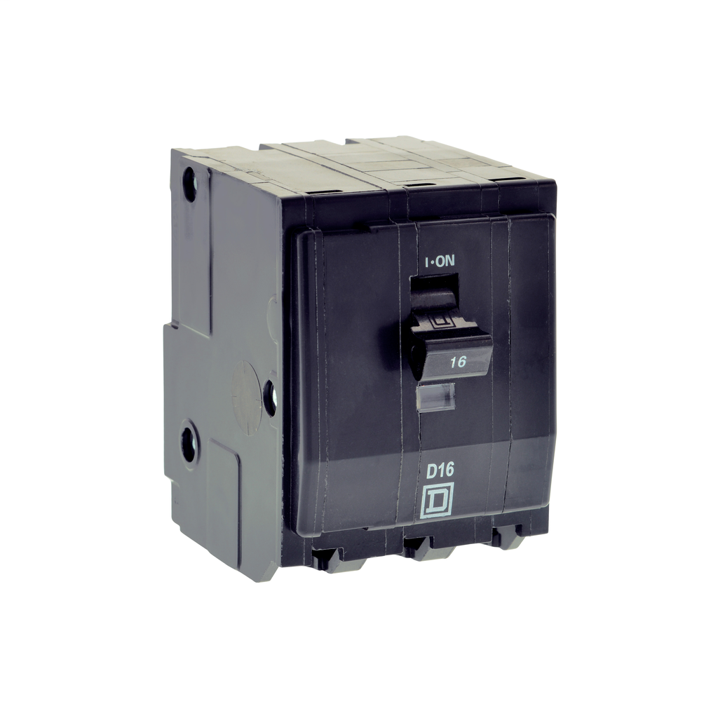 Mayer-Mini circuit breaker, QO, 50A, 3 pole, 240/415 VAC, 3 kA, plug in mount-1