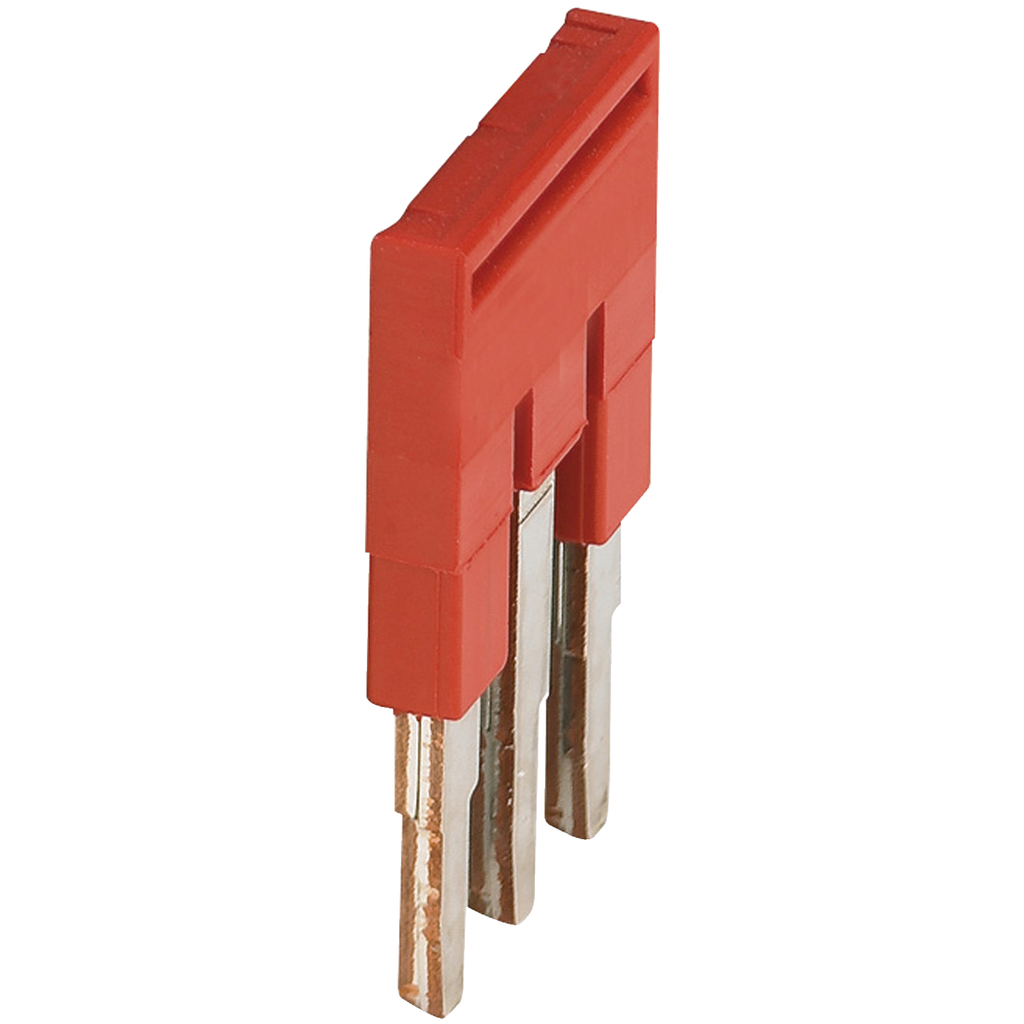 Mayer-PLUG-IN BRIDGE, 3POINTS FOR 2,5MM² TERMINAL BLOCKS, RED-1