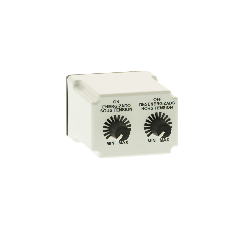 Mayer-Plug In Timer, repeat cycle, 0.1 to 10 seconds, 24 VAC/DC-1