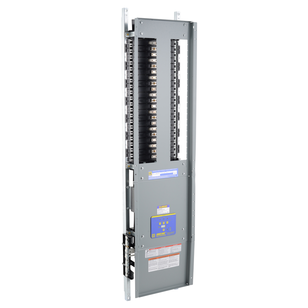Mayer-Panelboard interior, NF, main lugs, 250A, Al bus, 42 pole spaces, 3 phase, 4 wire, 600Y/347 VAC max, surge suppressor-1