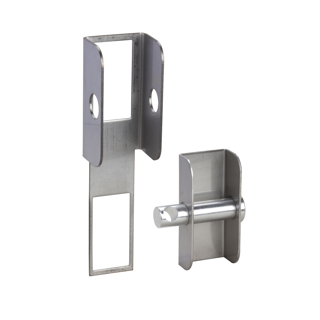 Mayer-Padlock device for large rectangular escucheon of PLM 108 and PL-1