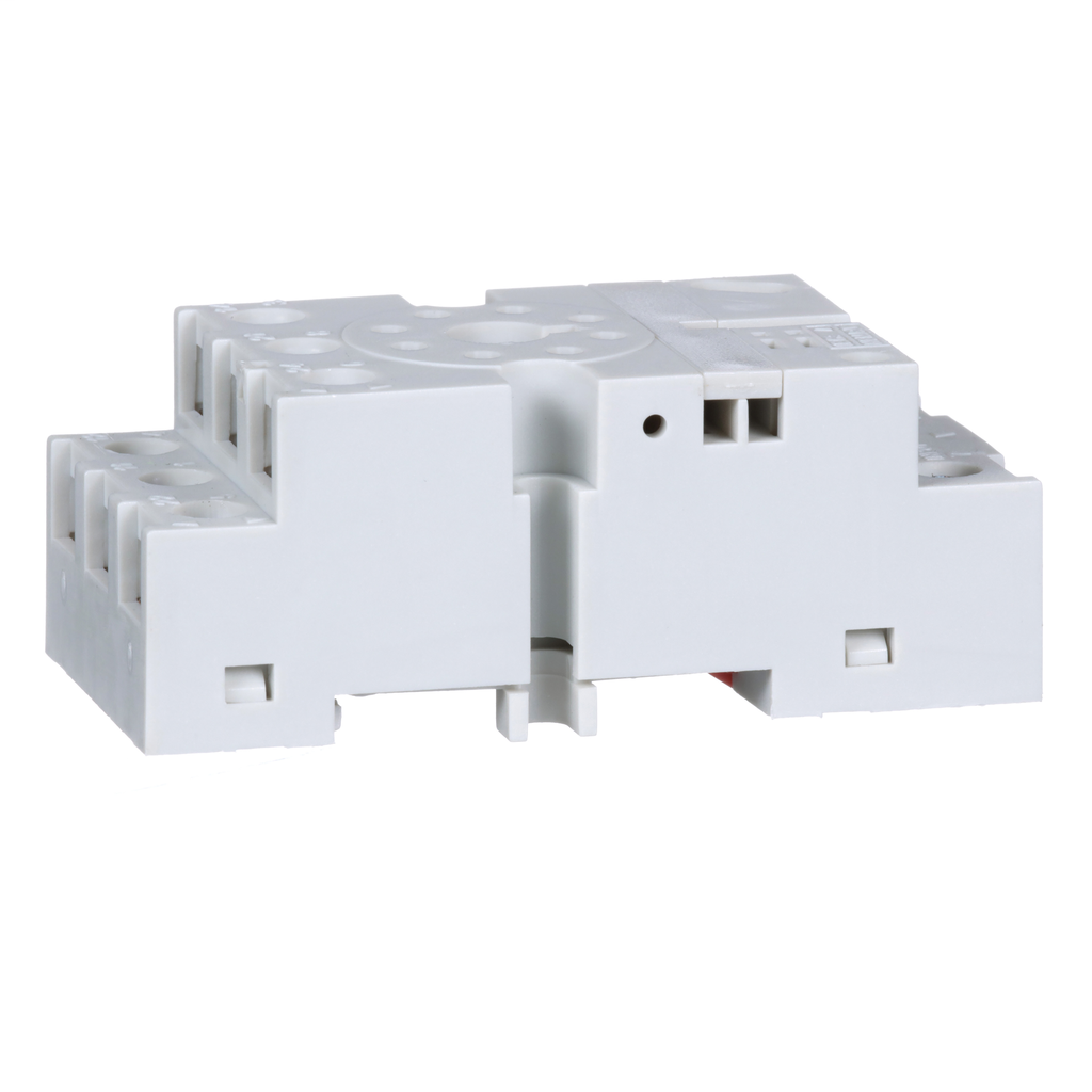 Mayer-Plug in relay, Type N, relay socket, 8 tubular pin, double tier, for 8510KP relays and 9050JCK timers-1
