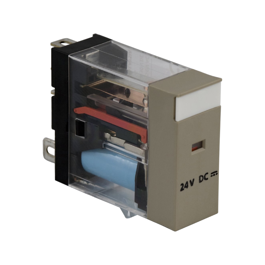 Mayer-Plug-in electromechanical relay - 12.5 mm - 24 V DC - 1 CO-1