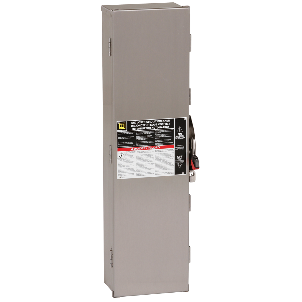 Square D J250DS NEMA 4/4X Enclosure for Circuit Breaker