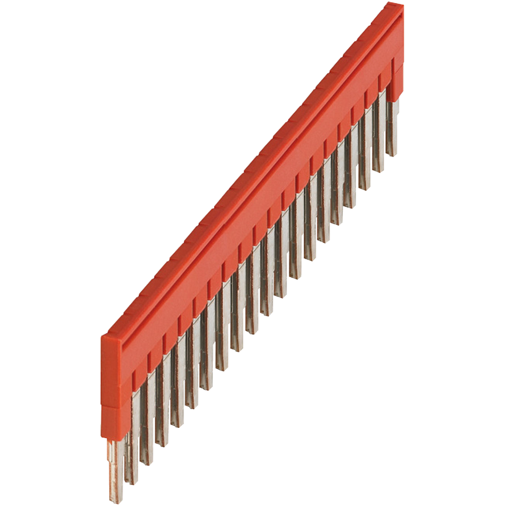 Mayer-PLUG-IN BRIDGE, 20POINTS FOR 2,5MM² TERMINAL BLOCKS, RED-1