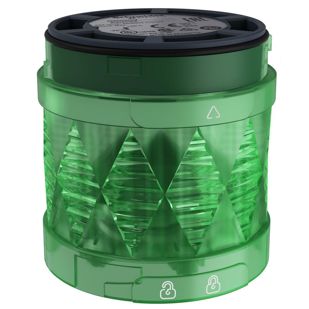Square D XVUC23 24 Volt 2.5 W Green LED Unit