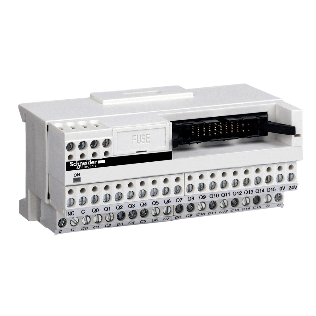 Mayer-Passive connection sub-base ABE7 - 16 inputs or outputs - Led-1