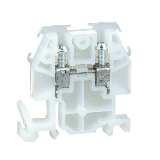 Mayer-Terminal Block, box lug connector, 30 A, 600 VAC/DC, natural colored block-1