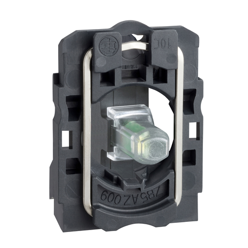 Mayer-Green light block with body/fixing collar integral LED 110...120V-1