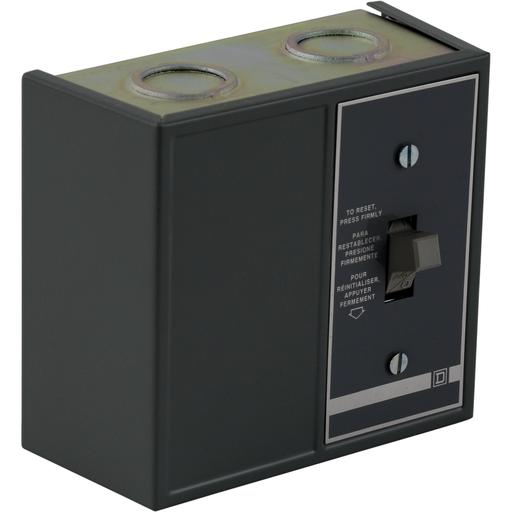 Mayer-Duplex Manual Starter - NEMA 1 - 1 Starter - 2P -Toggle - Red Indicator - 277VAC-1