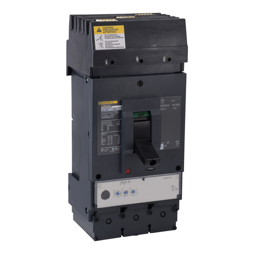 Mayer-Circuit breaker, PowerPact L, I-Line, Micrologic 3.3, 400A, 80% rated, 3 pole, 100 kA, 600 VAC, phase ABC-1