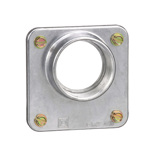 Meter pak accy, hub, 1.50 in wire size, Series A, rainproof, 3.31 in