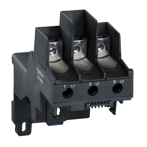Mayer-Adapter terminal block, TeSys LRD, for separate mounting of LR2D3… LR3D3…, lugs connection-1