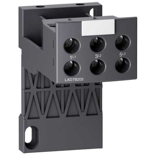 Mayer-Adapter terminal block, TeSys LRD, for separate mounting of LRD04L-D32L LR3D04L-D32L LR9D01-D32-1