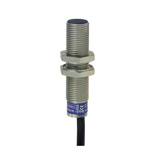 Mayer-Inductive sensor XS6 M12 - L54mm - brass - Sn4mm - 12..48VDC - cable 2m-1
