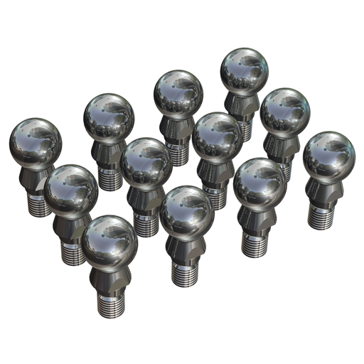 Mayer-12 ball pins, set for 1 robot-1