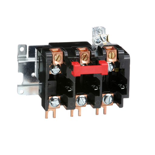 Mayer-Melting alloy overload relay, NEMA Size 2, three pole, 45 A, 600 VAC-1
