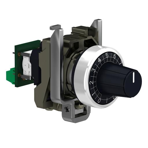 Mayer-Complete potentiometer, metal, Ø22, 10K-1