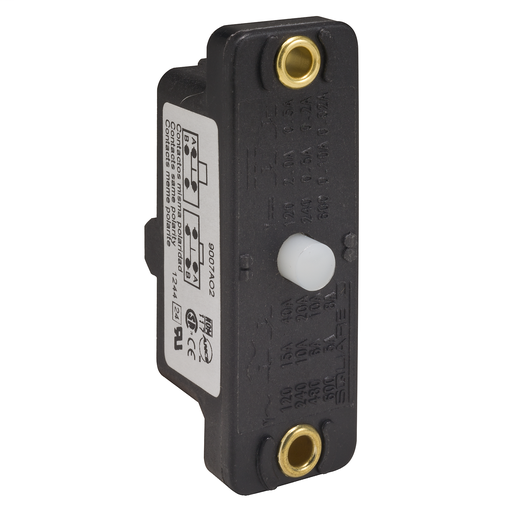 Mayer-9007 snap switch - basic plunger - NO - panel mount-1