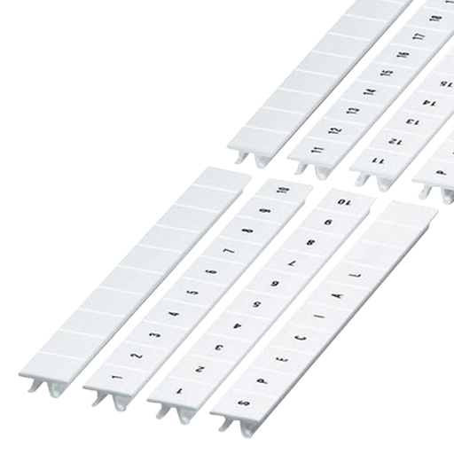 Mayer-CLIP IN MARKING STRIP, 10MM, 10 CHARACTERS 21 TO 30, PRINTED HORIZONT-1