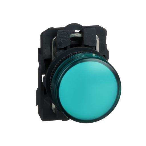 Mayer-Harmony, 22mm pilot light, green lens, 120 V LED-1