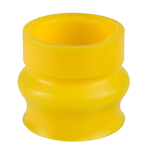 Mayer-Bellow seal, silicone, yellow, for emergency stop/switching off function, for harsh environments-1
