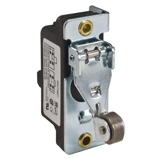 Mayer-9007 snap switch - roller lever plunger - NO/NC - RH bracket - one way roller-1
