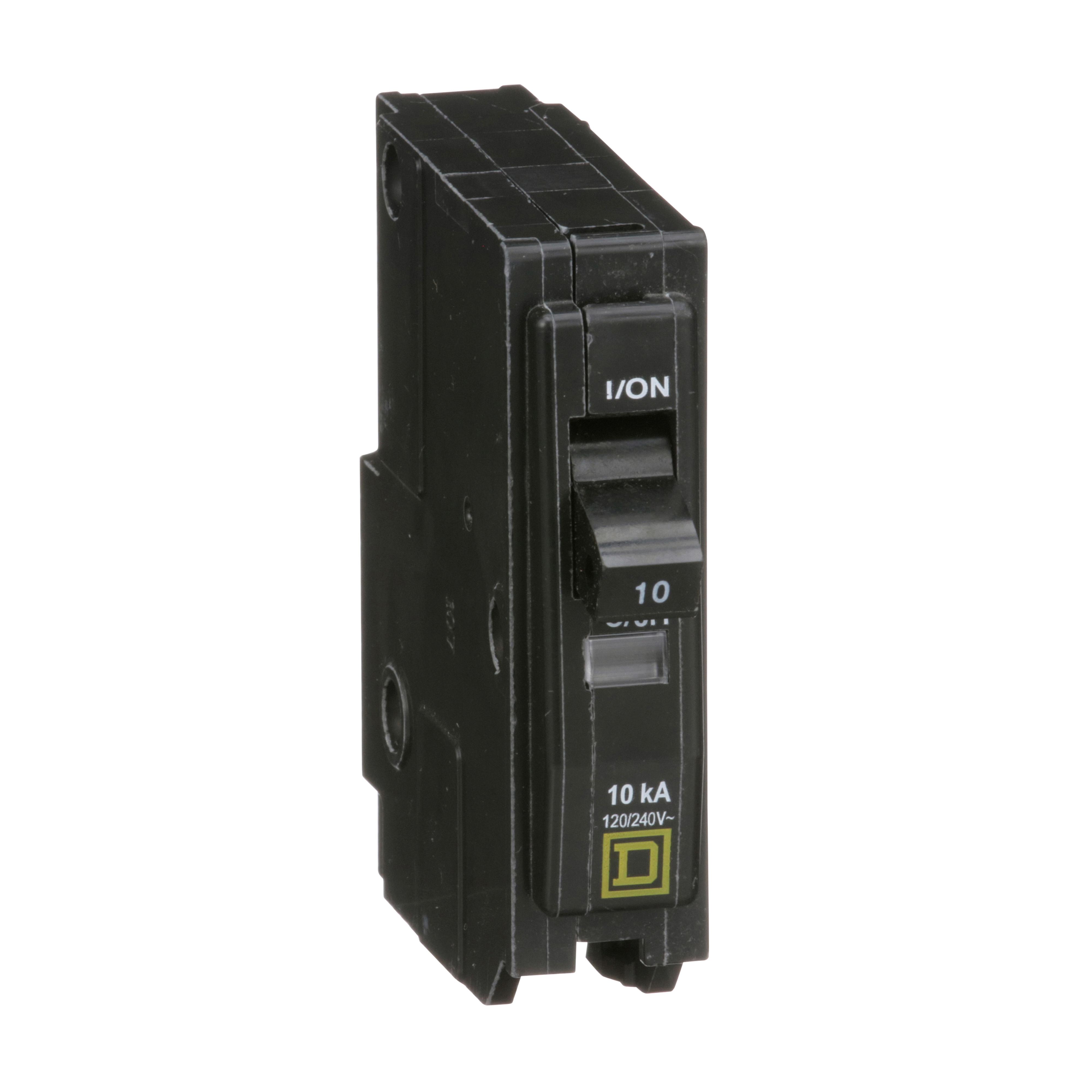 SQUARE D QO110 : MINIATURE CIRCUIT BREAKER 120/240V 10A