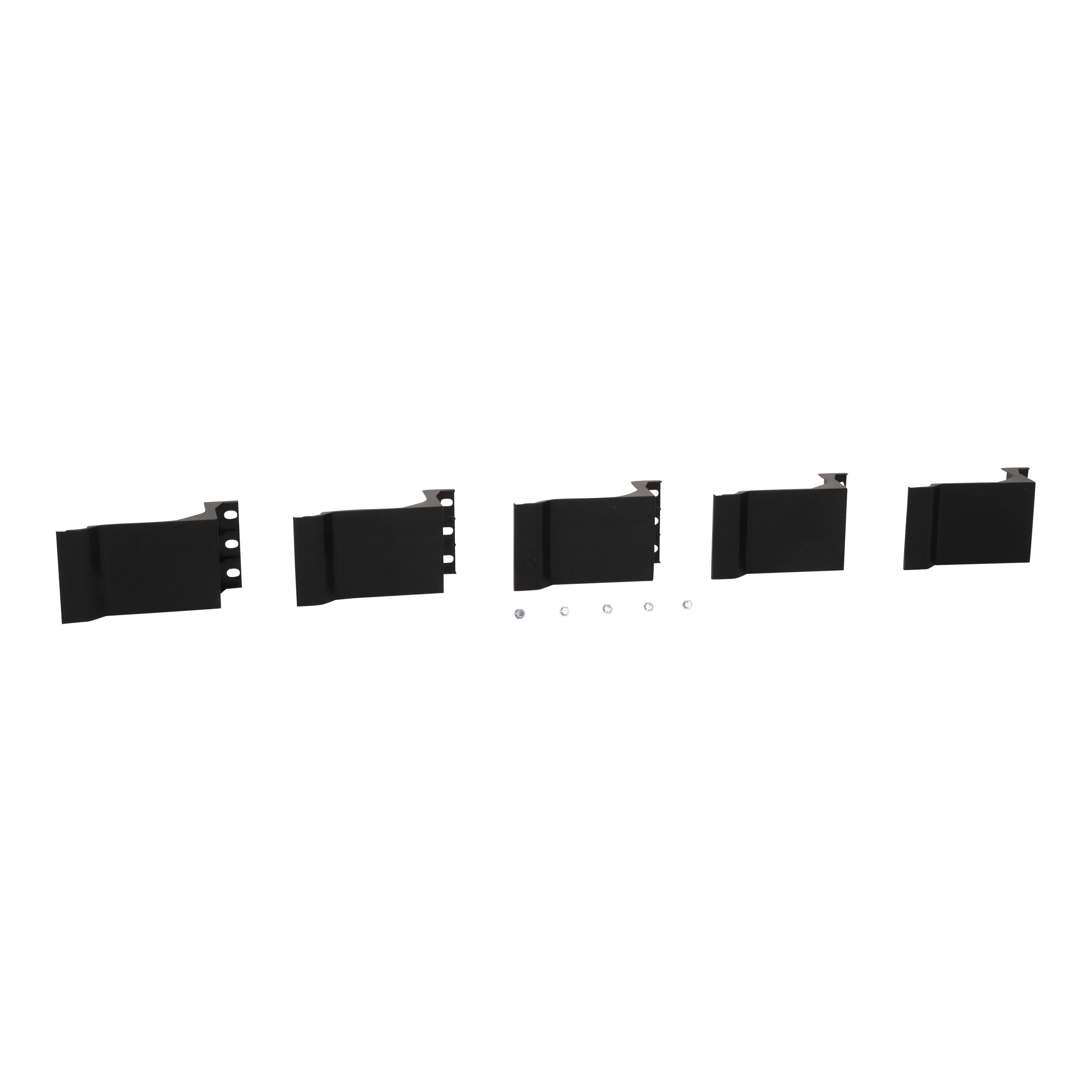 SQUARE D HNM4BL : PANELBOARD FILLER BLANK - (5 PER CASE) (Sold Per each NOT CASE)