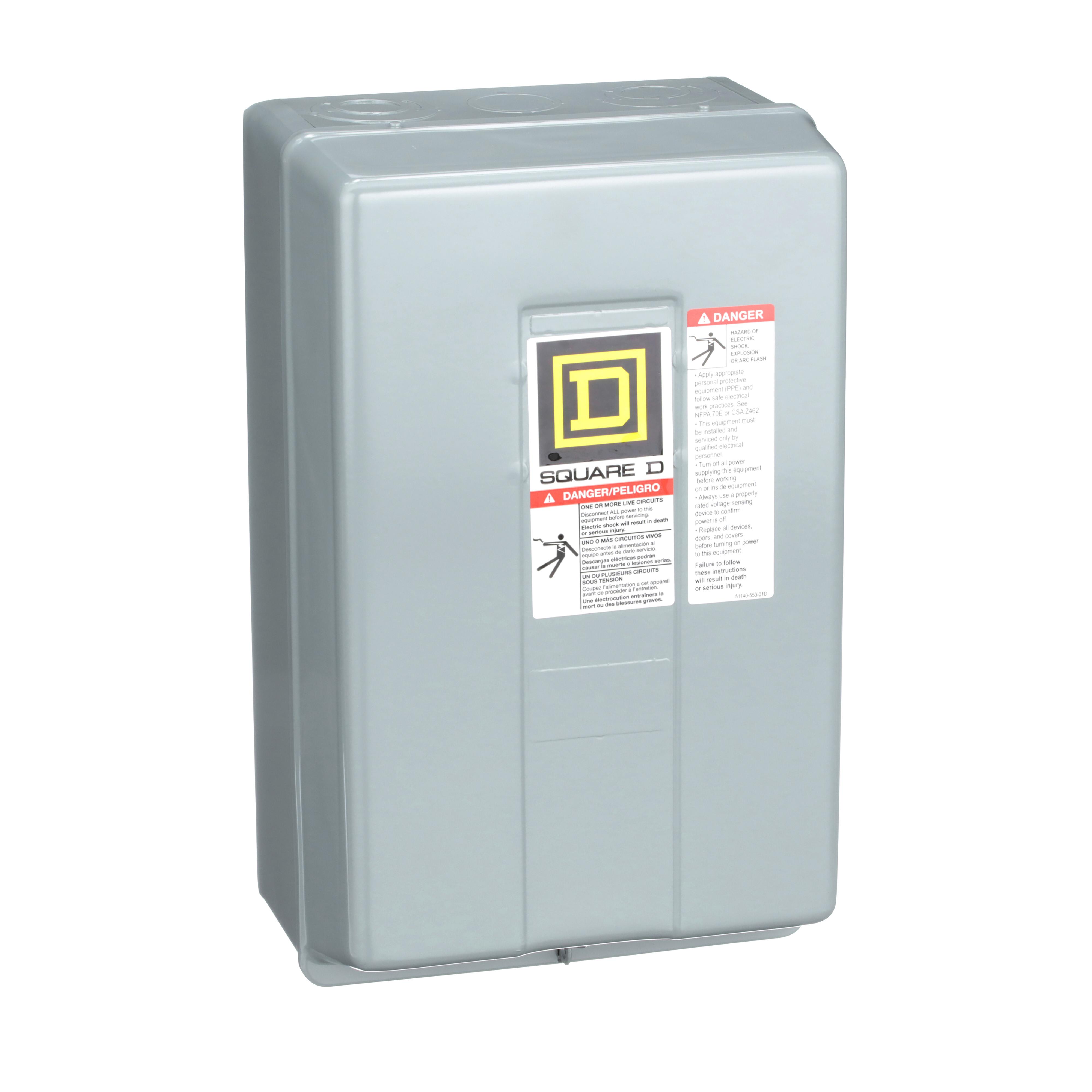 SQUARE D 8903LG40V02 : LIGHTING CONTACTOR 600VAC 30A L