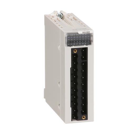 Discrete input module, M340, 16 Inputs, 24 VDC sink