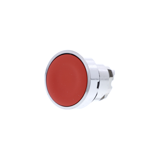 Harmony, 22mm Push Button, flush push button head, spring return, red, unmarked