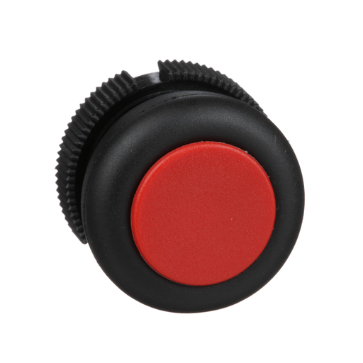 Harmony, round head for push button, spring return, red, booted