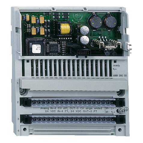 Distributed analog/discrete I/O Modicon Momentum