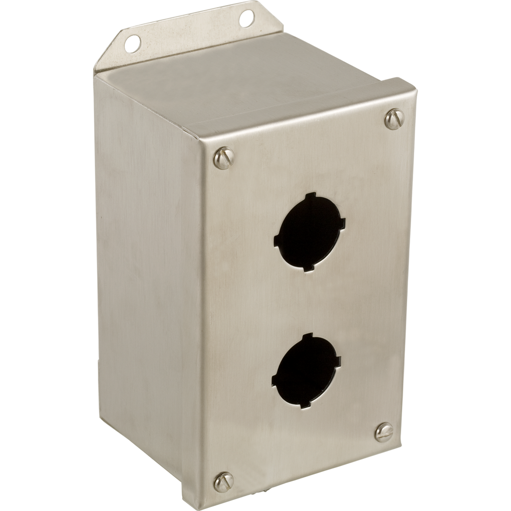 SQD 9001KYSS2 30MM CONTROL STATION2HOLE STAINLESS