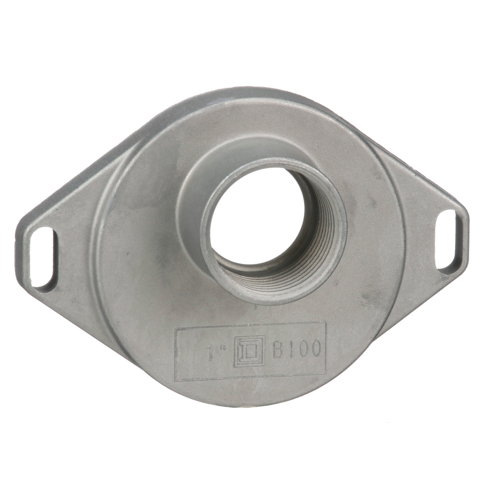 """Square-D B100 1"""" Bolt-On Rainproof Hub for RB Devices"""