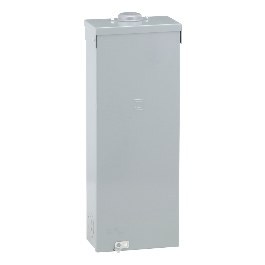 Square D Q23225NRB 225 Amp 9.88 x 5.5 x 26.25 Inch Steel NEMA 3R Circuit Breaker Enclosure