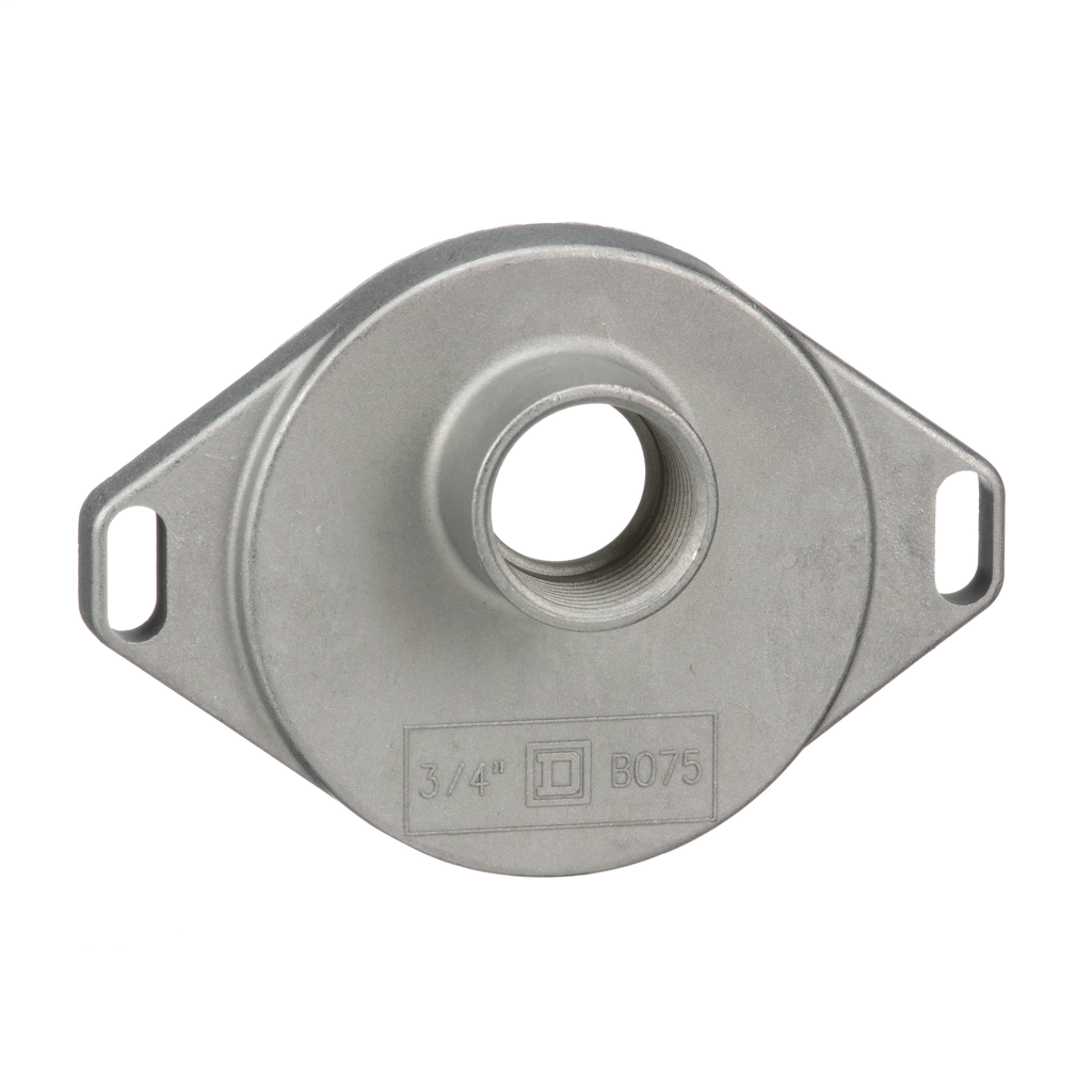 """Square-D B075 3/4"""" Bolt-On Rainproof Hub, for RB Devices"""