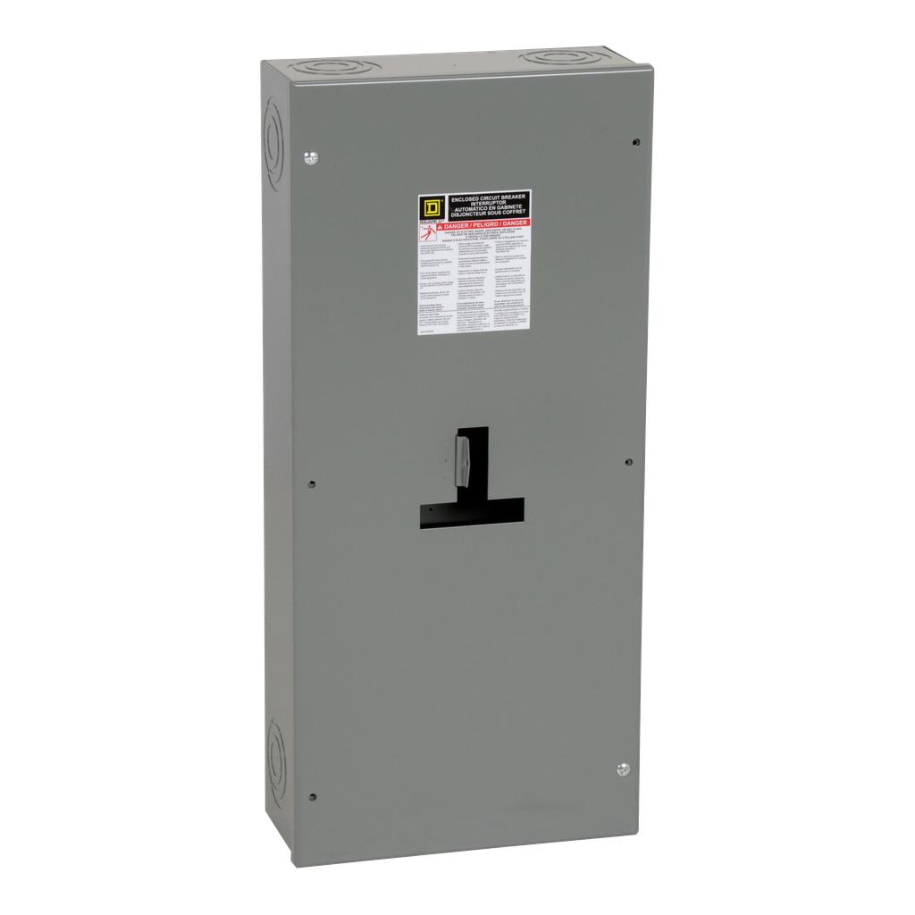 Square-D J250S Circuit Breaker Enclosure NEMA-1 H&J Frame