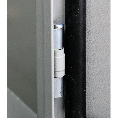 Door hinges for Spacial S3D encl. Set of 1 hinge, supplied with fixings.