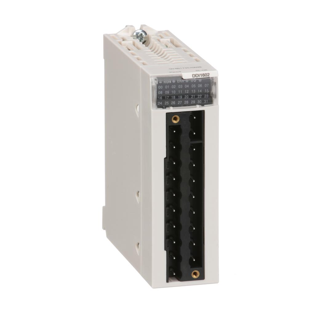 Mayer-Discrete input module, M340, 16 Inputs, 24 VDC sink-1