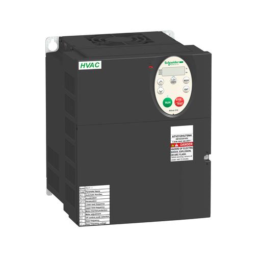 Mayer-Variable speed drive ATV212 - 7.5kW - 10hp - 480V - 3ph - EMC - IP21-1