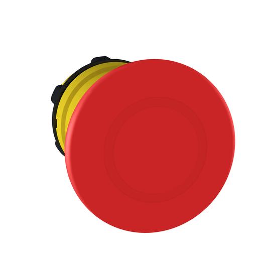 Mayer-Emergency stop head, switching off, plastic, red mushroomØ40, Ø22, trigger latching push-pull-1