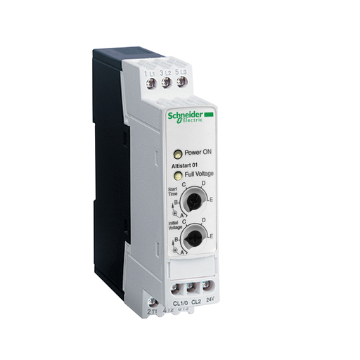 Mayer-Soft starter for asynchronous motor - ATS01 - 3 A - 110..480V - 0.55..1.1 KW-1