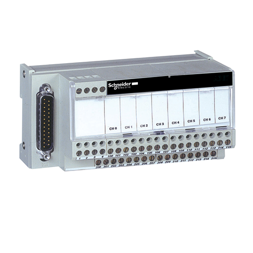 Mayer-Connection sub-base ABE7 - for passive distribution of 8 channels-1