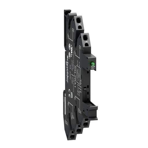 Mayer-Spring socket equipped with LED and protection circuit, 110 V-1